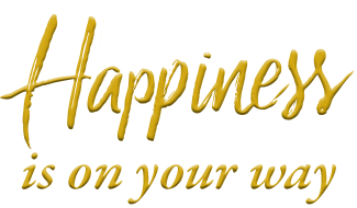 Happiness is on your way